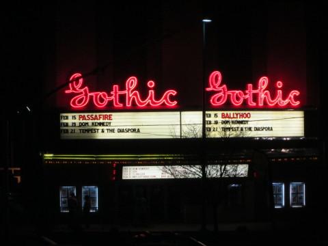 Passafire Live At The Gothic