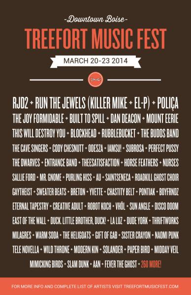 Treefort Music Festival 2014