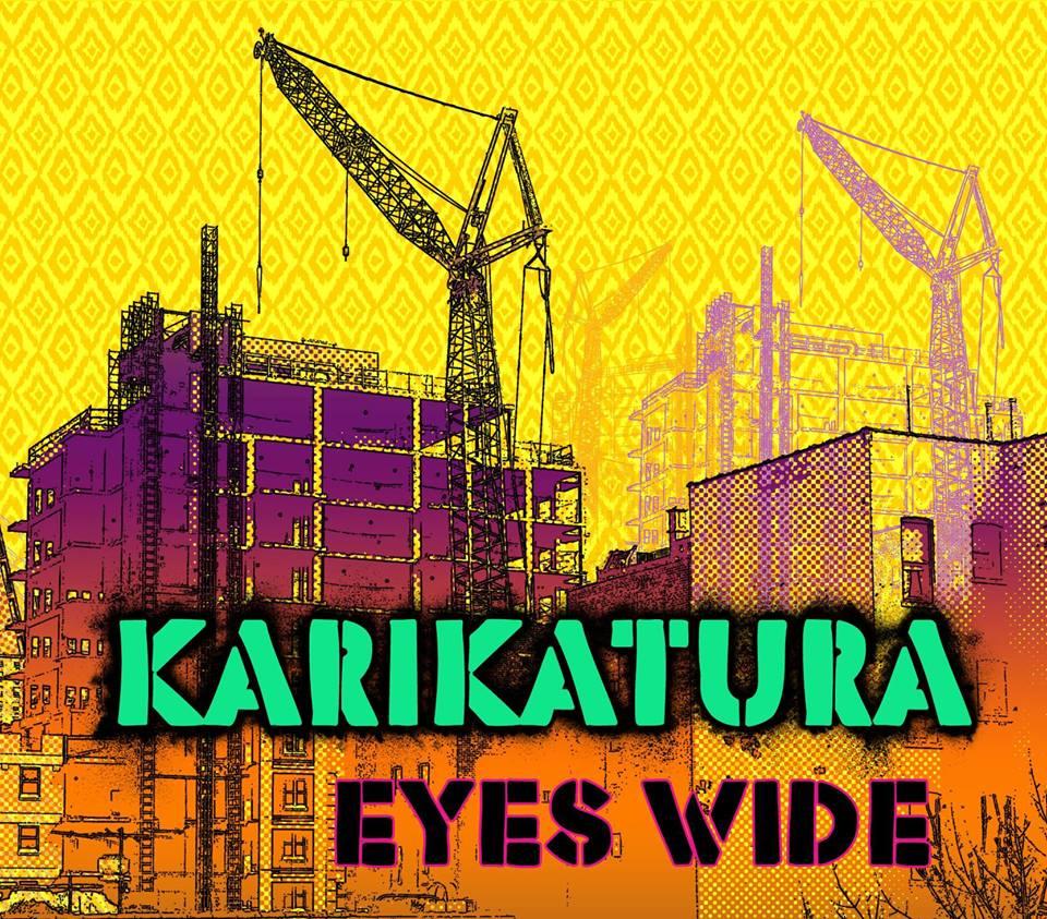 Karikatura - Eyes Wide