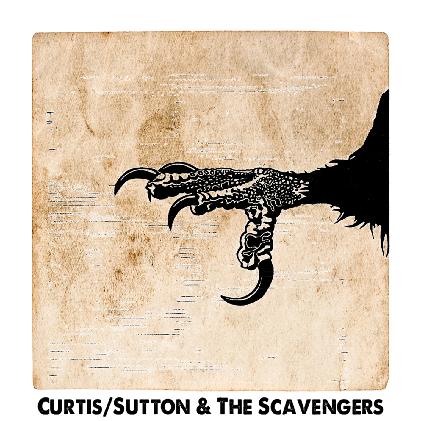 Curtis-Sutton & The Scavengers - Curtis-Sutton - cover